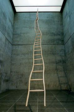 Martin Puryear...... My artist friend Helen makes these ladders from Australian bush timber found around her home. They are gorgeous