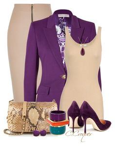 """""""Beige&Purple"""" by ccroquer ❤ liked on Polyvore featuring River Island, Emilio Pucci, iHeart, Rupert Sanderson, Jérôme Dreyfuss and Rina Limor"""