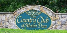 The Country Club of Mount Dora is located in the rolling hills of Lake County Florida.  Only 35 minutes Northwest of Orlando it is surrounded by horse farms and lakes.  This water was built into the design of this picturesque course by the Clifton, Ezell & Clifton design team in 1991, and comes into play on 16 holes. The raised greens are guarded by strategically placed traps and water, and offer a challenging target for both the accomplished player and the recreational golfer.