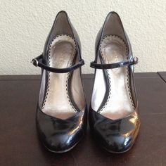"""Bebe Patent Snake Print Pumps Beautiful black patent material. 4"""" heel. These have been loved by me, as shown in pictures. With kids now, I have no place to wear these beauties to. Size 6 bebe Shoes Heels"""