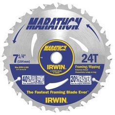 50 Pack Irwin 24030 Marathon 7-1/4' x 24-Tooth Framing and Ripping Circular Saw Blade Bulk -- Check this awesome product by going to the link at the image.