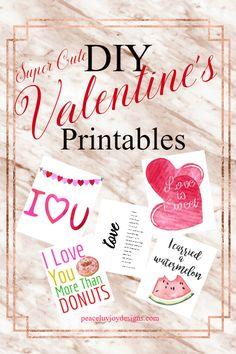 Super cute DIY printables for the creative souls.