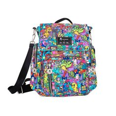Love love love this bag!! Ju-Ju-Be x tokidoki Be Sporty in Kaiju City! ~ $160