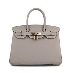 Grey Hermes Birkin bag