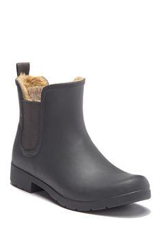 912747a357a5 Eastlake Chelsea Faux Fur Waterproof Boot Chelsea