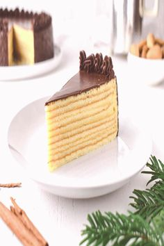 #Marzipan #schichttorte #bestetortenrezepte Festlicher Baumkuchen bzw Schichttorte ohne Marzipan   Rezept für festlichen Baumkuchen bzw Schichttorte ohne Marzipan Super saftig und mit leichter Ru brp classfirstletterYou are on the page with the greater content about tortenrezeptebananepThe forceful icon We Offer You About leckeretortenrezeptebrA quality figure can tell you many things You can find the highest magnificently figure that can be presented to you about schichttorte in this… Vegan Cake, Vegan Desserts, Pudding Desserts, Gourmet Recipes, Baking Recipes, Tree Cakes, Muffins, Perfect Food, Confectionery