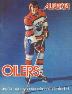 Alberta Oilers. WHA Illustrated. Hockey Rules, Pro Hockey, Hockey Players, Sports Trophies, Hockey Pictures, Maximum Effort, Hockey Season, Edmonton Oilers