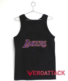 Los Angeles Lakers Logo Tank Top Men And Women  Price: 17.99   #graphictshirt