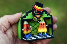 Matchbox shrine by artist Sherry Westfall Matthews. $22.00, via Etsy.