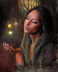 Paintings by Emilia Wilk - ego-alterego.com