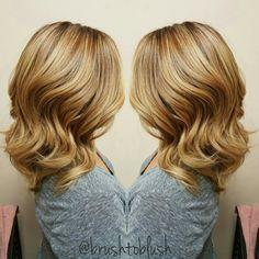 Blonde-Schwarzkopf color-highlights- hair painting