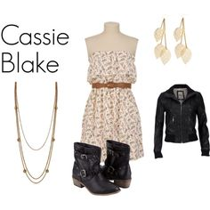 Cassie from the secret circle inspired outfit