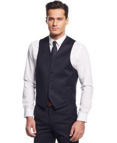 Lauren Ralph Lauren Navy Solid Vest