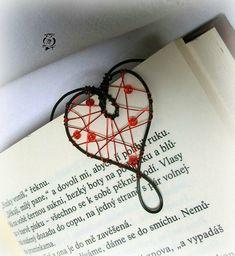 Srdíčko - záložka nejen do knihy