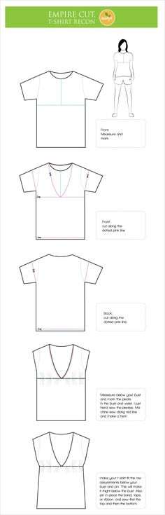I've been fascinated with all the T shirt reconstruction I've seen around, so yesterday, I was bored and decided to make my own reconstruction.. I had a big t shirt (it was my mom's) I trace it and...