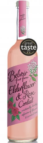 Elderflower and Rose Cordial
