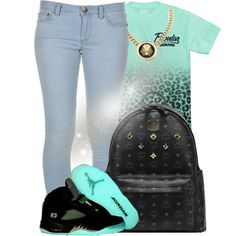 Baby put your arms around me tell me I'm a problem,know I'm not the girl you thought you knew, and thought you wanted,underneath this pretty face is something complicated,come with a side of trouble but I know that's why you staying by bria-myell on Polyvore featuring Marc by Marc Jacobs, MCM and Roial