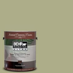 BEHR Premium Plus Ultra 1-gal. #PPU9-21 Sanctuary Eggshell Enamel Interior Paint-275401 at The Home Depot