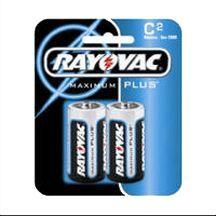 SPECTRUM BRANDS INC Rayovac C Alkaline Battery, 2PK