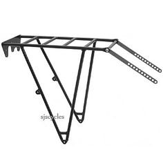 Thorn Expedition Rear Cycle Rack: This beauty does the duty over the rear transaxle.