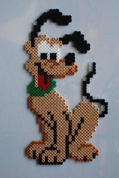 Pluto Disney hama perler beads by Jeannet Stotefalk