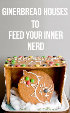 Nerdy gingerbread house ideas from Harry Potter, to Lord of the Rings and Doctor Who