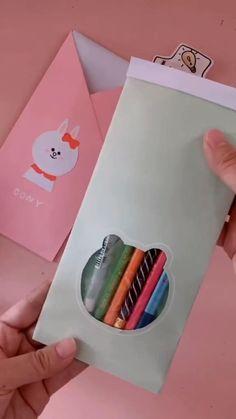 Diy Crafts Hacks, Diy Crafts For Gifts, Diy Home Crafts, Creative Crafts, Crafts For Kids, Summer Crafts, Cool Paper Crafts, Paper Crafts Origami, Tape Crafts