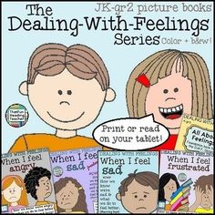 Blog Post: The Dealing-With-Feelings Series of picture books for JK-gr 2 students. New titles coming Summer 2015 #DWF
