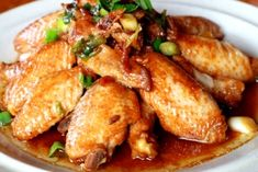 Cy's Chicken Adobo Wings My brother loves preparing this simple and easy one-pot dish. Be sure to have lots and lots of steamed rice ready.- Deirdre Todd