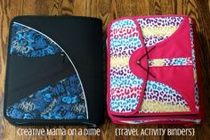 Creative Mama on a Dime: Relaxing Roadtrip - Travel Activity Binders