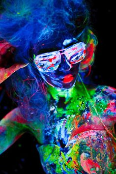 """""""Rave paint""""  i've always wanted to go. this would be nice to draw/paint"""