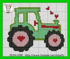 C - Diy Crafts - Marecipe Cross Stitch For Kids, Cross Stitch Baby, Cross Stitch Charts, Cross Stitch Patterns, Knitted Mittens Pattern, Fair Isle Knitting Patterns, Knitting Charts, John Deere Crafts, Cross Stitching