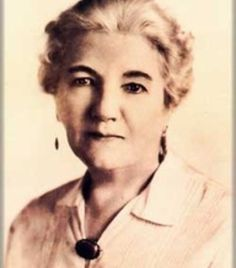 Laura in later years as an author