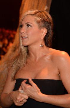 Jennifer Aniston braid Guys' Choice 2013 Awards