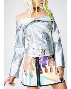 Take A Rocket Hologram Jacket