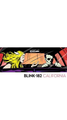 Blink 182 California iphone wallpaper bored to death