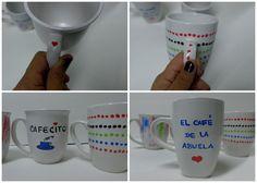 Tazas de café – Cómo hacer tazas de café personalizadas | QueRicaVida.com