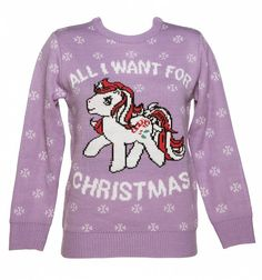 Women's My Little Pony Knitted Christmas Jumper