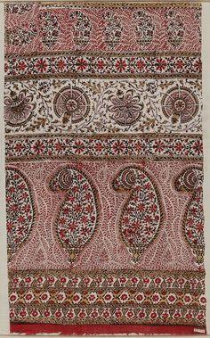 Indian Bordered Print Fabric