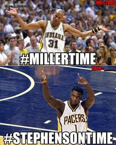 Nba Funny, Funny Memes, Lance Stephenson, Sports Sites, Basketball Is Life, Nba Memes, Indiana Pacers, New York Knicks, Rebounding