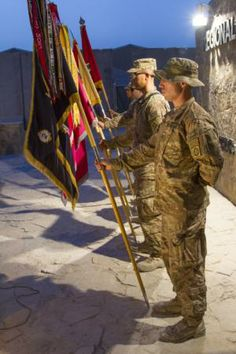 RC(S), Inf. commemorate anniversary of D-Day Parade Rest, 4th Infantry Division, Normandy Beach, 70th Anniversary, Color Guard, D Day, Regional, Soldiers, Beaches