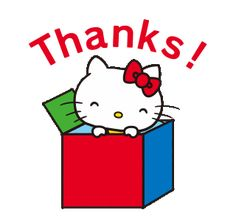 Hello Kitty My Melody, Hello Kitty Vans, Sanrio Hello Kitty, Thanks Gif, Hello Kitty Characters, Sanrio Characters, Animated Smiley Faces, Thank You Gifs, Hello Kitty Christmas