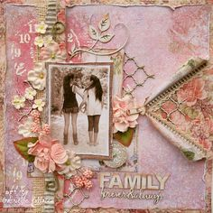 A Special 2 Page Kit!! (plus an extra Dusty Attic Kit!) {The Scrapbook Diaries}