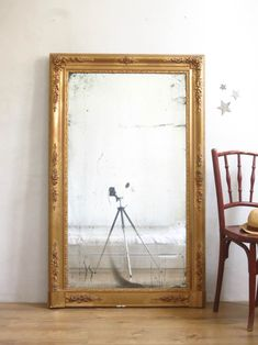 L'ancien et grand miroir