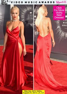 Rita Ora Shows Off Curves In Red Silk Dress — Love Or Loathe?