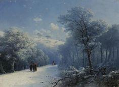 Aceste 7 peisaje exclusive de iarnă, ale renumitului pictor Aivazovski, foarte puțini le-au văzut. Fii tu printre primii ⋆