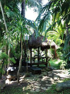 Bali Style Tropical Garden