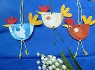Relatert bilde Easter Crafts For Toddlers, Easy Crafts For Kids, Toddler Crafts, Crafts To Make, Art For Kids, Preschool Art Projects, Class Art Projects, Preschool Crafts, Chicken Crafts