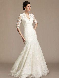 Vintage Lace Wedding Dress DE302