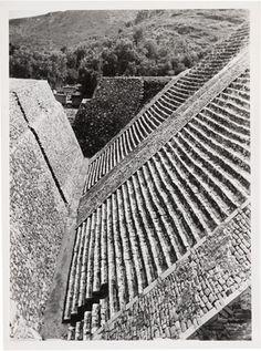 JOSEF ALBERS  Tenayuca, Mexico, n.d. photograph 4 1/2 × 3 1/4 ins. (11.6 × 8.6 cm) 1976.7.1437
